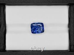 GIA GRS Certified SRI LANKA Blue Sapphire 5.71 Cts Natural Untreated Royal Blue