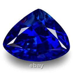GRS Certified MADAGASCAR Blue Sapphire 1.88 Cts Natural Untreated Triangular