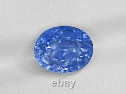 GRS Certified SRI LANKA Blue Sapphire 4.61 Cts Natural Untreated Oval
