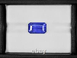 GRS Certified SRI LANKA Blue Sapphire 7.43 Cts Natural Untreated Octagonal