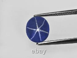 GRS Certified SRI LANKA Blue Star Sapphire 10.21 Cts Natural Untreated Oval