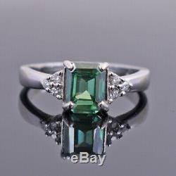 Gorgeous 1.80 ct Blue Diamond Ring, Certified Earth Mined, Great Shine & Luster