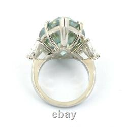 Gorgeous RARE 22ct Certified Blue Diamond Engagement Ring! WATCH VIDEO