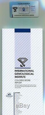 IGI Certified 1.41 carat Sri Lanka Natural Blue Transparent Oval Cut Sapphire