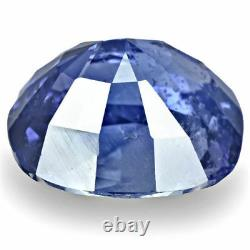 IGI Certified MADAGASCAR Blue Sapphire 2.79 Cts Natural Untreated Deep Blue