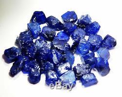 Natural 5000 Ct IGI Certified Gorgeous Kashmiri Blue Sapphire Gemstone Raw Lot