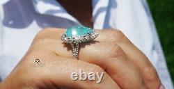Paraiba Tourmaline Ring Gold Diamond 14K GIA Natural 14CT Certified RETAIL$23400