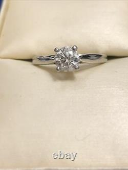 Platinum Blue Nile GIA Certified. 70 Ct JSI1 Diamond Solitaire Engagement Ring