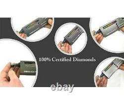 RARE 15 Ct Blue Diamond Ring, Certified, Amazing Shine & Bling WATCH VIDEO