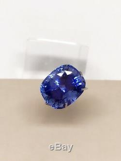Sri LankaDeep Blue Sapphire 9,71ct IGI Certified NO HEAT NO TREAT 100% Natural