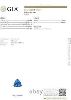 Tanzanite Diamond Gold Ring NO HEAT Natural GIA Certified 7.55CTW RETAIL $15800